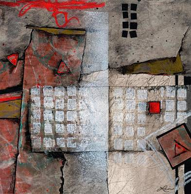 Squares Mixed Media - A Few Good Ideas  by Laura  Lein-Svencner