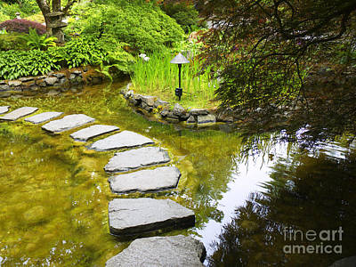 Photograph - Stepping Stones by Brenda Kean