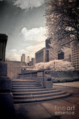 Photograph - Steps In A City Park by Jill Battaglia