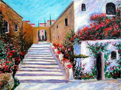 Painting - Steps Of Beauty by Larry Cirigliano