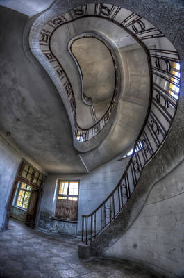 Abandoned Digital Art - Steps Of Forgotten Beauty by Nathan Wright