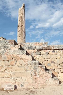 Aegina Photograph - Steps To Apollo Column by Paul Cowan