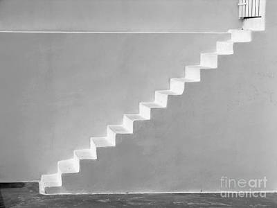 Art Print featuring the photograph Steps To Heaven by Ana Maria Edulescu