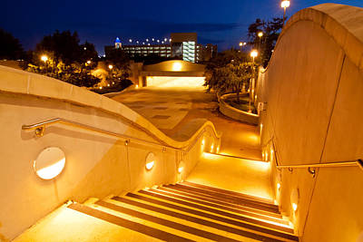 Texas A And M Digital Art - Steps To Kyle Field by Linda Unger