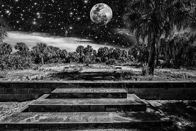 Photograph - Steps To The Moon by Kevin Cable