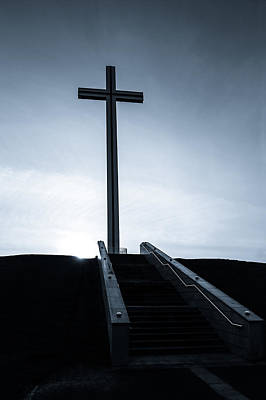 Photograph - Steps To The Papal Cross by Semmick Photo