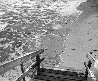 Photograph - Steps To The Sea by Michelle Wiarda