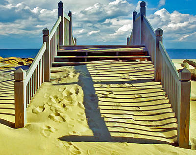 Photograph - Steps To The Sky by Gary Slawsky