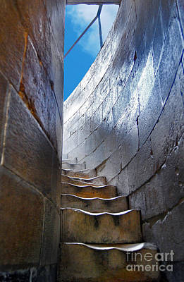 Photograph - Steps To The Top Of The Leaning Tower Of Pisa - Toscana - Italia by Carlos Alkmin