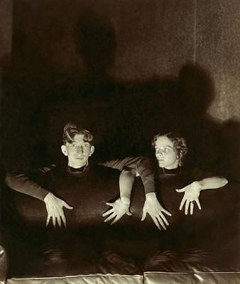 Young Man Photograph - Sterling Holloway And Cynthia Rogers by Edward Steichen