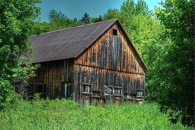Photograph - Sterling Valley Barn by John Nielsen