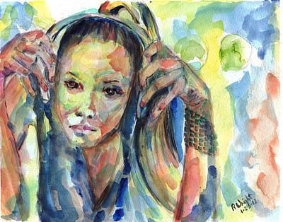 Sterlz Art Print by Ramona Wright