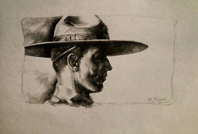 Stetson Art Print by Derrick Higgins