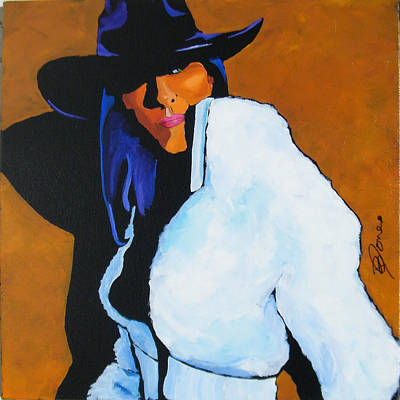 Painting - Stetson Shadows by Dennis Jones