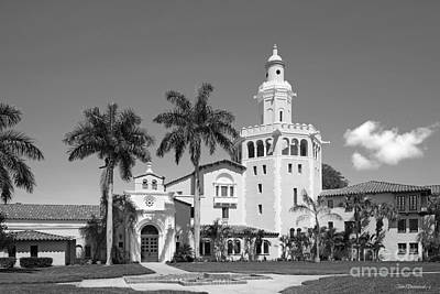 Photograph - Stetson University College Of Law Plaza Mayor  by University Icons