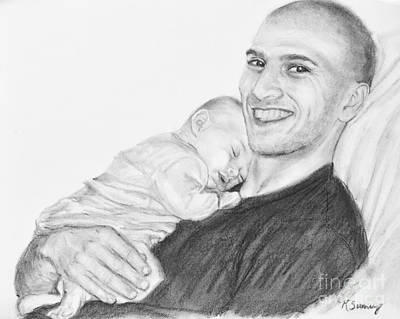 Drawing - Steve And Livie by Kate Sumners