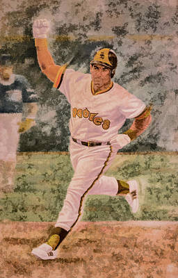 Digital Art - Steve Garvey by Photographic Art by Russel Ray Photos