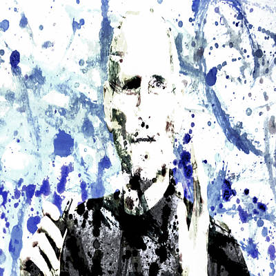 Music Ipod Digital Art - Steve Jobs by Brian Reaves