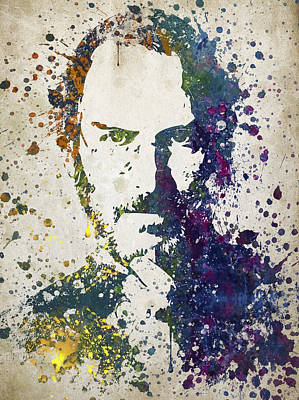 Steve Jobs In Color 02 Art Print by Aged Pixel
