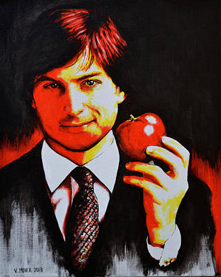 Steve Jobs Original by Victor Minca