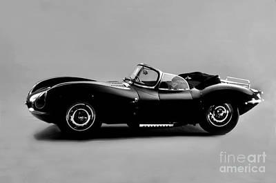 Steve Mcqueen's 1957 Jaguar -xkss-the Real Deal Original by Howard Koby