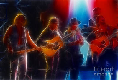 Gingrich Photograph - Steve Miller Band Fractal-1 by Gary Gingrich Galleries