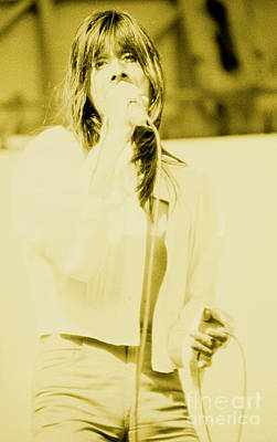Steve Perry Of Journey At Day On The Green - July 27th 1980 Art Print