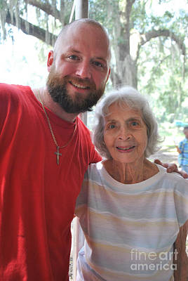 Photograph - Steve With Sweet Attendee by George D Gordon III