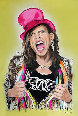 Steven Tyler Mixed Media - Steven Tyler 2 by Melanie D