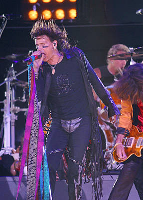 Aerosmith Photograph - Steven Tyler Aerosmith by Don Olea