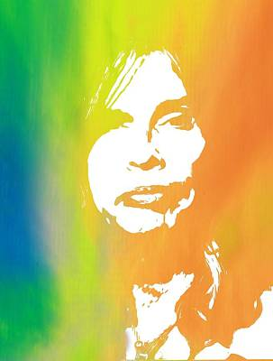 Aerosmith Digital Art - Steven Tyler by Dan Sproul