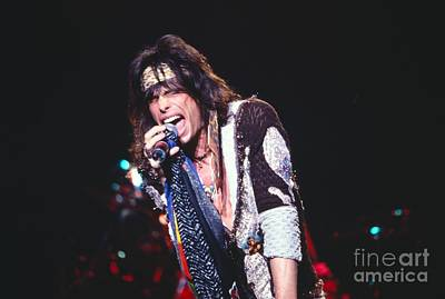 Aerosmith Photograph - Steven Tyler by David Plastik