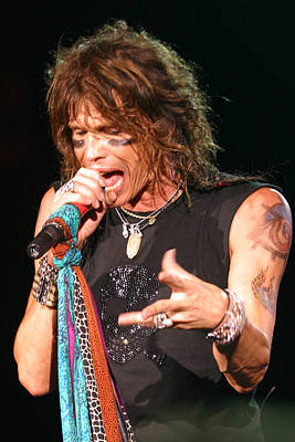 Art Print featuring the photograph Steven Tyler by Don Olea