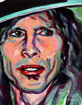 Steven Tyler Painting - Steven Tyler by Tanya Filichkin