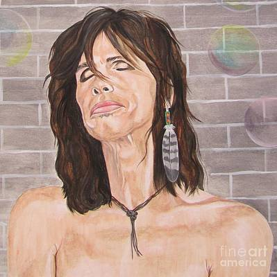 Steven Tyler Dreams On Art Print