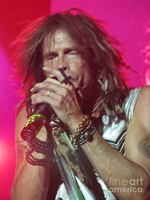Aerosmith Photograph - Steven Tyler Picture by Jeepee Aero