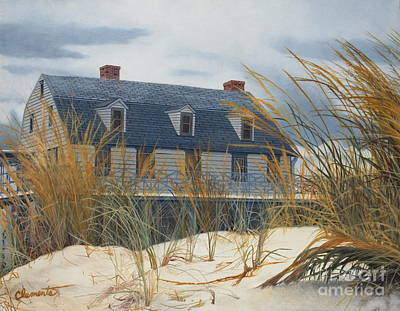 Painting - Stevens House by Barbara Barber