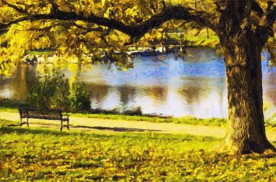 Stevens Lake Park Series 03 Art Print by David Allen Pierson