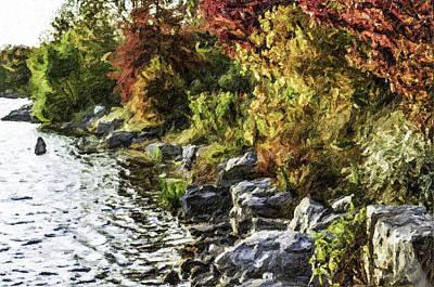 Stevens Lake Park Series 07 Art Print by David Allen Pierson