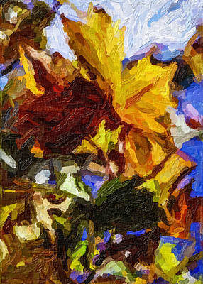 Stevens Lake Park Series 10 Art Print by David Allen Pierson