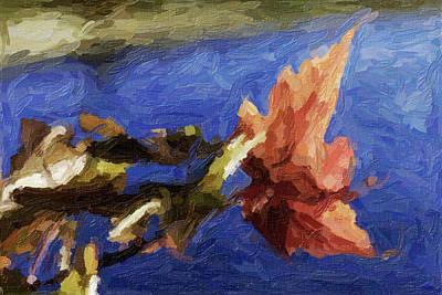 Stevens Lake Park Series 12 Art Print by David Allen Pierson