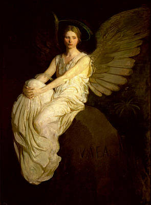 Painting - Stevenson Memorial by Abbott H Thayer