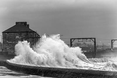 Photograph - Stevenston Storm by Fiona Messenger