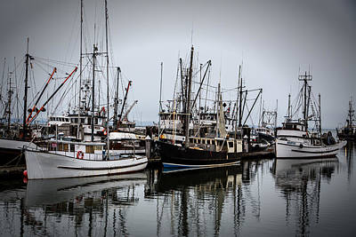 Photograph - Steveston Harbour by Kim Aston