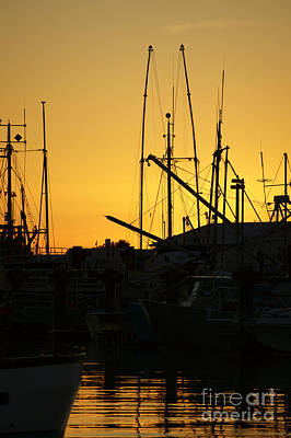 Photograph - Steveston Sunset Vancouver by John  Mitchell