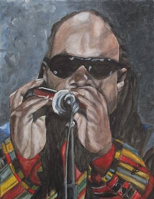 Painting - Stevie by Kim Selig