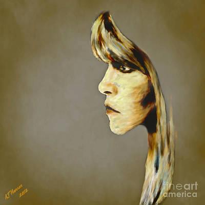Stevie Nicks Art Print by Arne Hansen