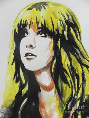 Stevie Nicks 01 Art Print