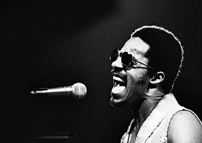 Photograph - Stevie Wonder - Howl  by Robert  Rodvik