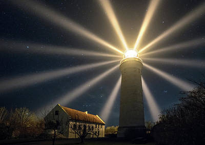 Beacon Wall Art - Photograph - Stevns Lighthouse by Keller